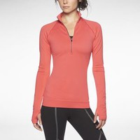 Nike Store. Nike Luxe Seamless Half-Zip Women's Running Top