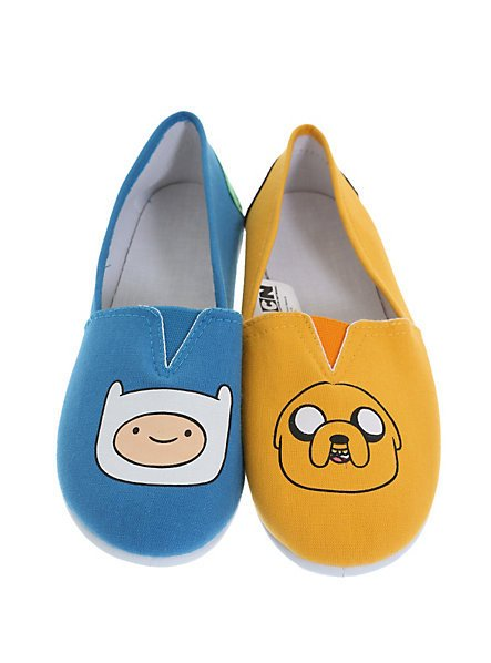 adventure time finn jake slip on shoes from topic