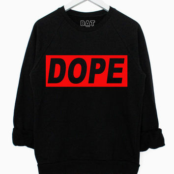 Dope Sweater - Black | BATOKO