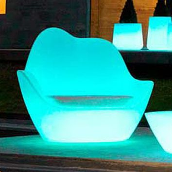 Sabinas Lounge Chair Illuminated & Vondom Sabinas Lounge Chair Illuminated | YLiving