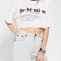 Blackstone Bohemian Cropped Tee - Urban Outfitters
