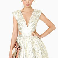 Contessa Brocade Dress
