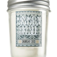 Marshmallow Fireside 6 oz. Mason Jar Candle   - Slatkin & Co. - Bath & Body Works