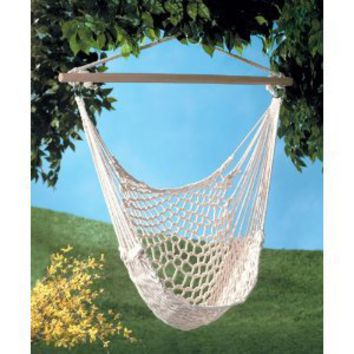 Amazon.com: Cotton Hammock Chair: Home & Kitchen