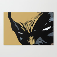 Wolverine Stretched Canvas by Chad Madden