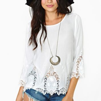 Dream Dancer Embroidered Top