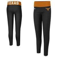 Texas Longhorns Ladies Pivot II Leggings - Black
