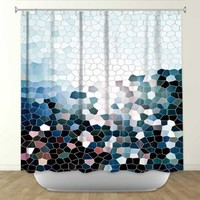 Shower Curtain from DiaNoche Designs by Arist Iris Lehnhardt Home Décor and Bathroom Ideas - Patternization I