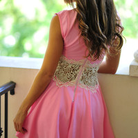 Restock: Title Me Princess Dress: Pink | Hope's