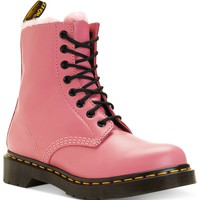 Dr. Martens Women's Boots, Serena Faux-Fur Booties - Juniors' Shoes - Shoes - Macy's