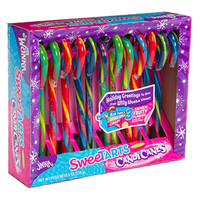 Jolly Rancher Smoothie Candy Canes: 12-Piece Box