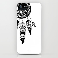 dreamcatcher iPhone & iPod Case by Blue Billy