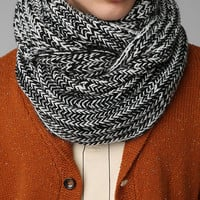 Marled Cable-Knit Eternity Scarf - Urban Outfitters