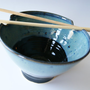 Pottery Rice Bowl / Noodle Bowl in Glossy by riverstonepottery
