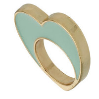 Enamel Heart Ring - Jewelry - Accessories - Topshop USA