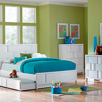 Hayden Lane White 5 Pc Twin Bedroom