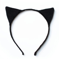 Suede Cat Headband - $12.00 : Welcome! SHOP WITH ROMI.COM