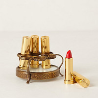 Round Vestige Lipstick Holder by Anthropologie Bronze One Size Bath