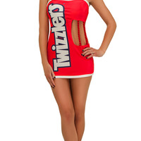 Exclusive Sexy Twizzlers Costume, Adult Twizzlers Costume, Red Licorice Costume