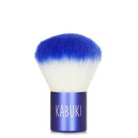 Kabuki Brush in Cobalt Blue - Accessories - Make Up - Topshop USA