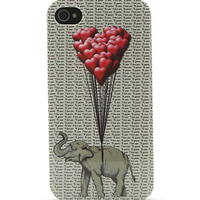 With Love From CA Elephant Heart 4/4S iPhone Case at PacSun.com