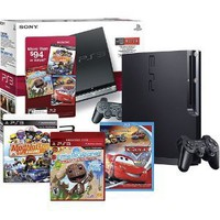 Sony - PlayStation 3 (160GB) with LittleBigPlanet, ModNation Racers and Cars