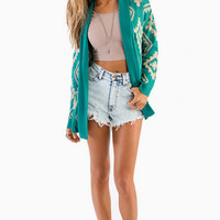 Total Tribal Cardigan $47