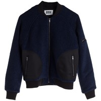 Flight Mix Bomber Jacket | MTWTFSS Weekday | Weekday.com