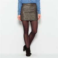 Short Jacquard Skirt