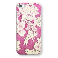 pink lace iPhone & iPod case by Sylvia | Casetagram