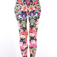 Leggings - Wildflower - Leggings - Pants & Shorts - Women - Modekungen - Fashion Online | Clothing, Shoes & Accessories