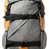 Flud Flannel Tech Backpack in Grey