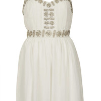 Embellished Strap Dress - Sale - Sale & Offers - Topshop