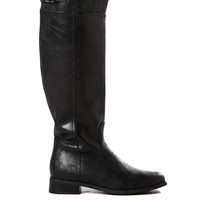 Rider-82 Tall Boot in Black