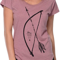 Imperial Motion Bow & Arrow Red Dolman Tee Shirt at Zumiez : PDP