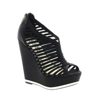 Wedge Peeptoe Shoes