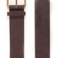 Distressed Belt with Stone and Small Stud Design and Roller Buckle