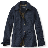 Quilted Riding Jacket: Casual Jackets   Free Shipping at L.L.Bean
