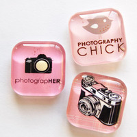Photography Magnets by KellysMagnets