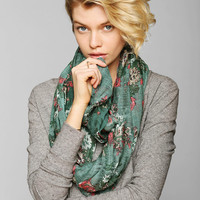 Tapestry Crosshatch Eternity Scarf - Urban Outfitters