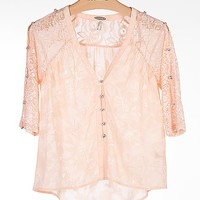 Gimmicks by BKE Pieced Shirt - Women's Shirts/Tops | Buckle