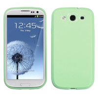 Samsung Galaxy S3 III Cute Baby Mint Solid Color Hard Cover Phone Case