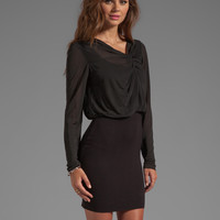 Bailey 44 Now a Soft Kiss Dress in Black
