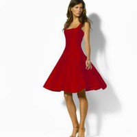Carol Silk Shantung Dress