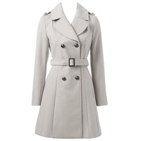 Harriet Belted Military Coat - Forever New