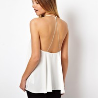 ASOS Backless Cami with Plunge