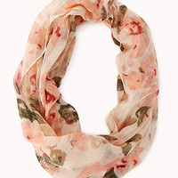 Abstract Floral Infinity Scarf | FOREVER 21 - 1000140324