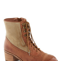 Jeffrey Campbell Route of the Matter Boot in Khaki | Mod Retro Vintage Boots | ModCloth.com