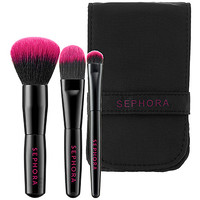 Sephora: SEPHORA COLLECTION : Travel Essential Brush Set : brush-sets-makeup-brushes-applicators-makeup