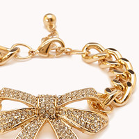 Sweet Side Bow Bracelet | FOREVER 21 - 1000093165